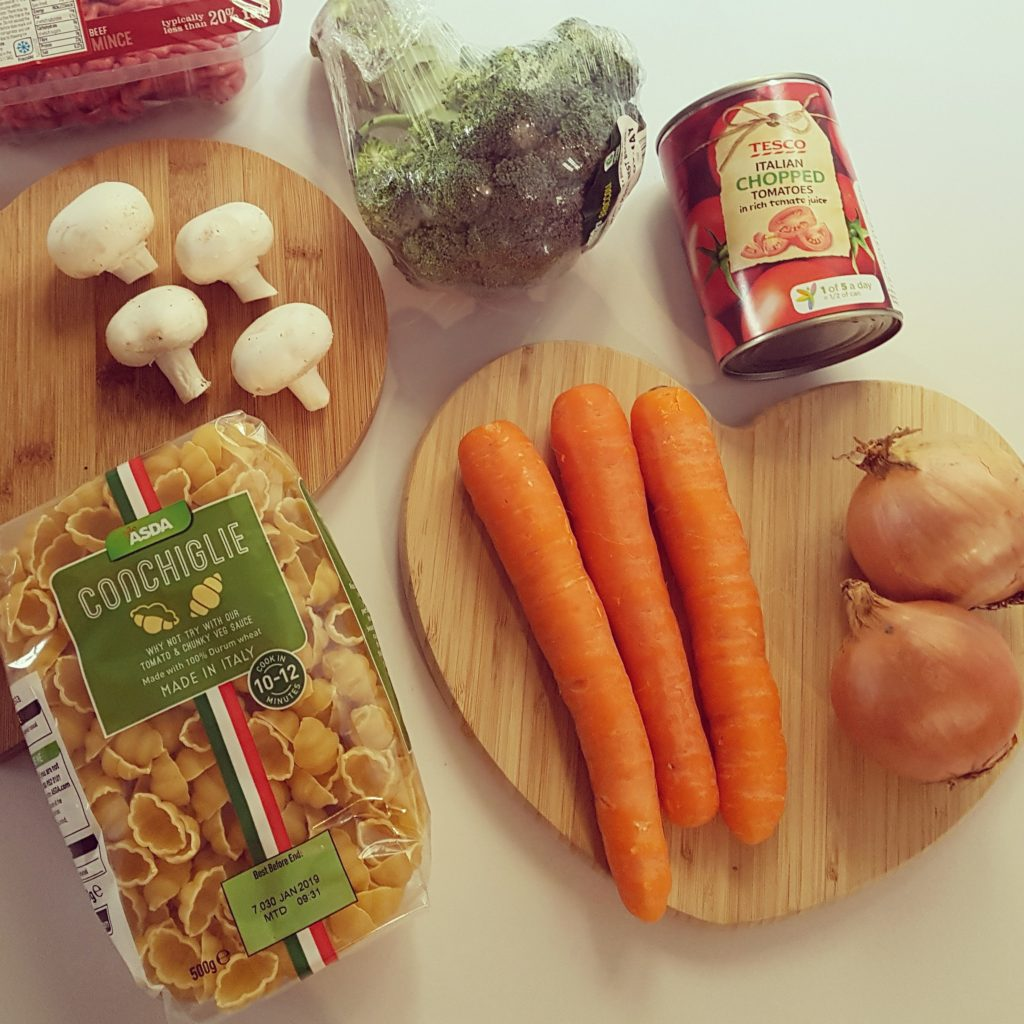 – Family meal plan with a toddler –