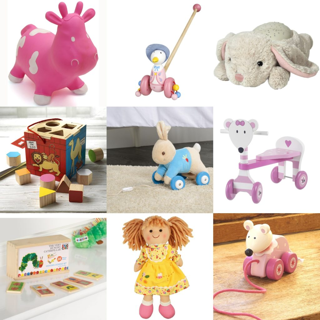 Gift Guide for 1 year olds.