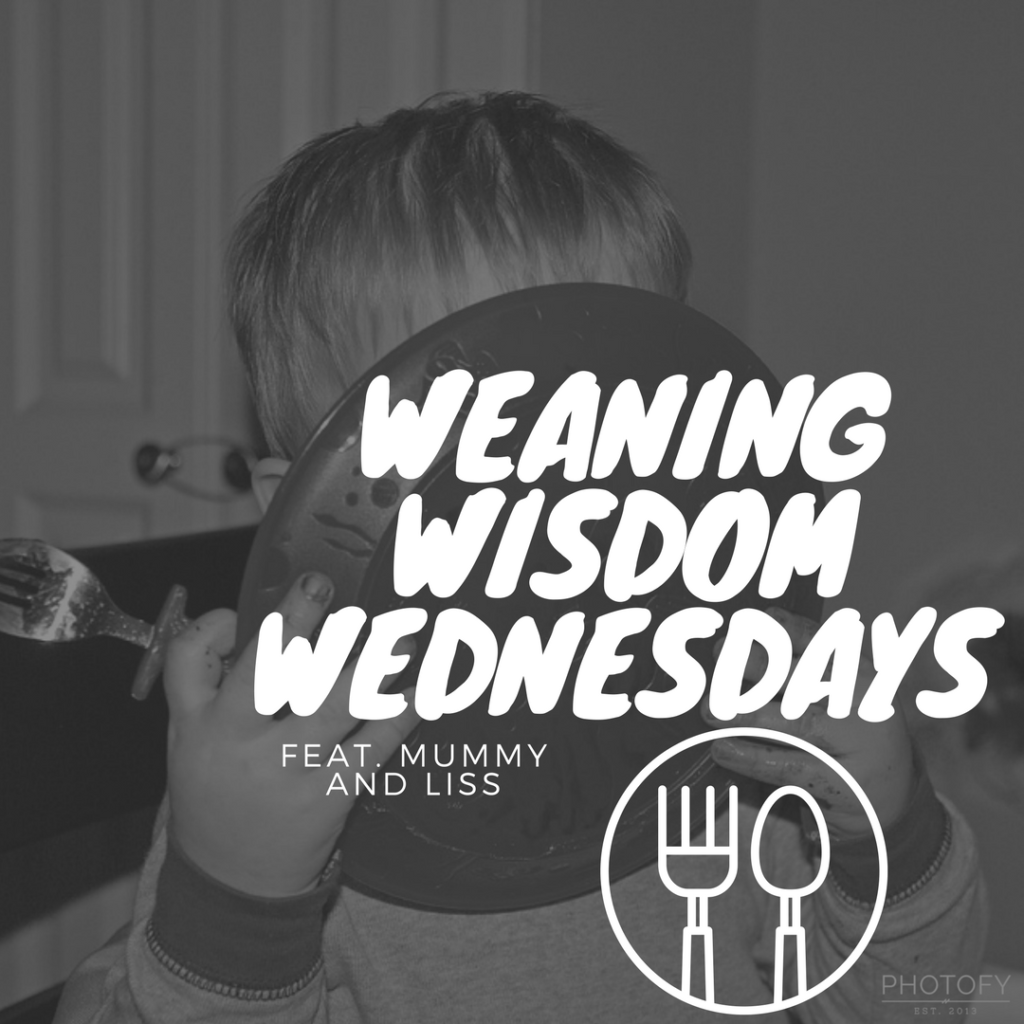 WEANING WISDOM WEDNESDAY'S