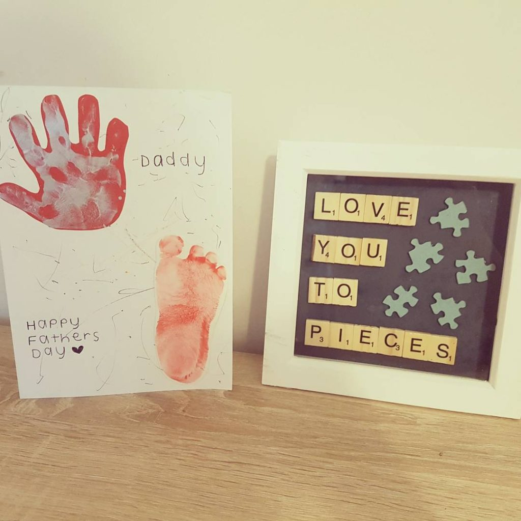 Fathers day, crafts & nursery decor featuring Ellie from Crabbs Crafts.