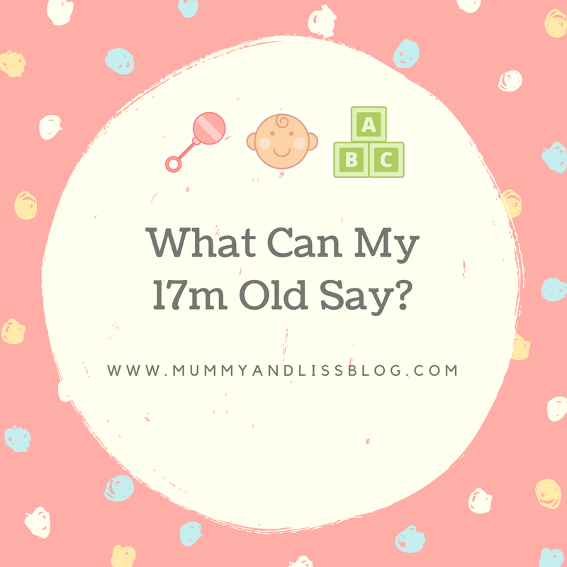 What Can My 17 month old Say?
