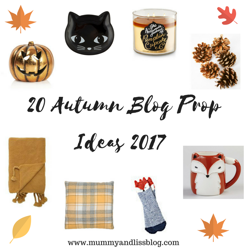 20 Autumn Blog Prop Ideas 2017