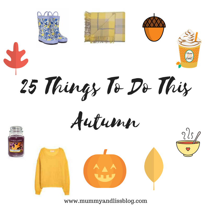25 Things To Do This Autumn