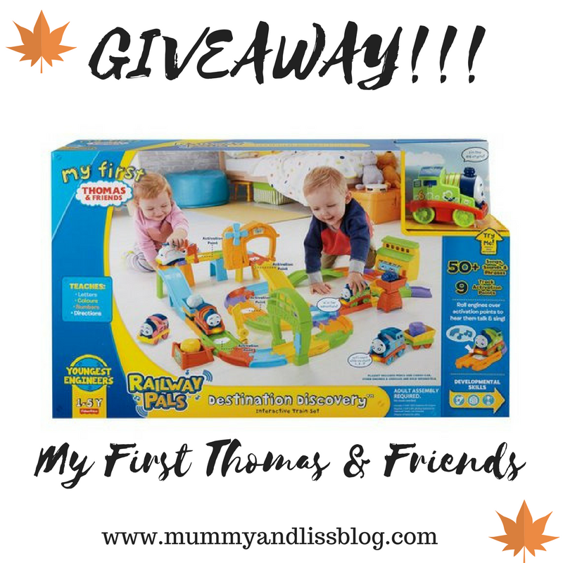 Thomas & Friends Railway Pals Discovery Set | REVIEW & GIVEAWAY