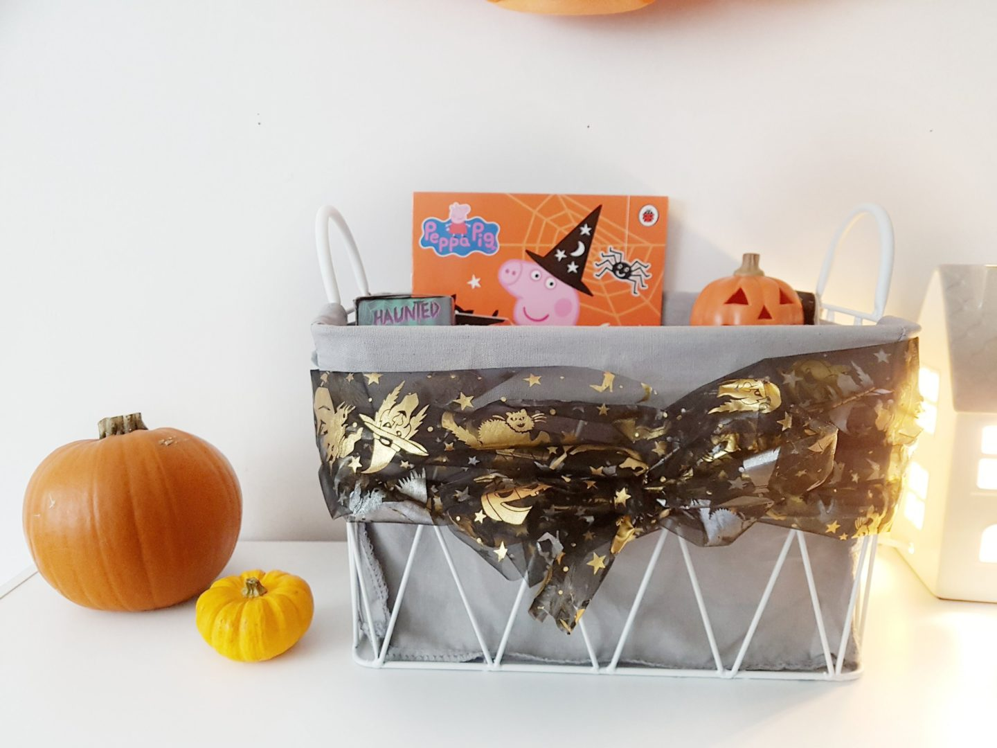 Halloween Basket for Toddlers.