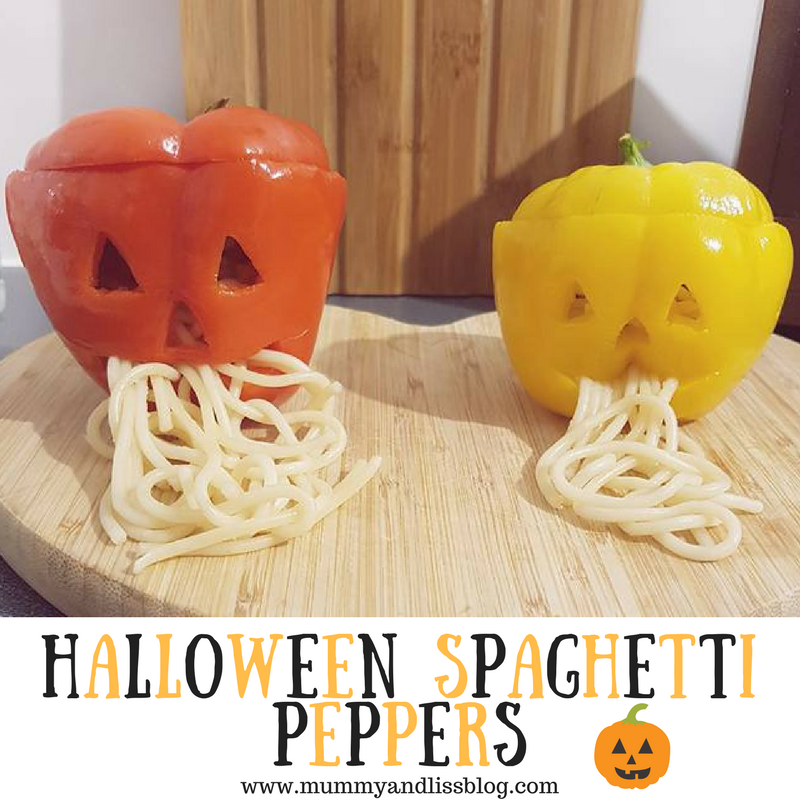 Halloween Stuffed Spaghetti Peppers – Ideal for Toddlers