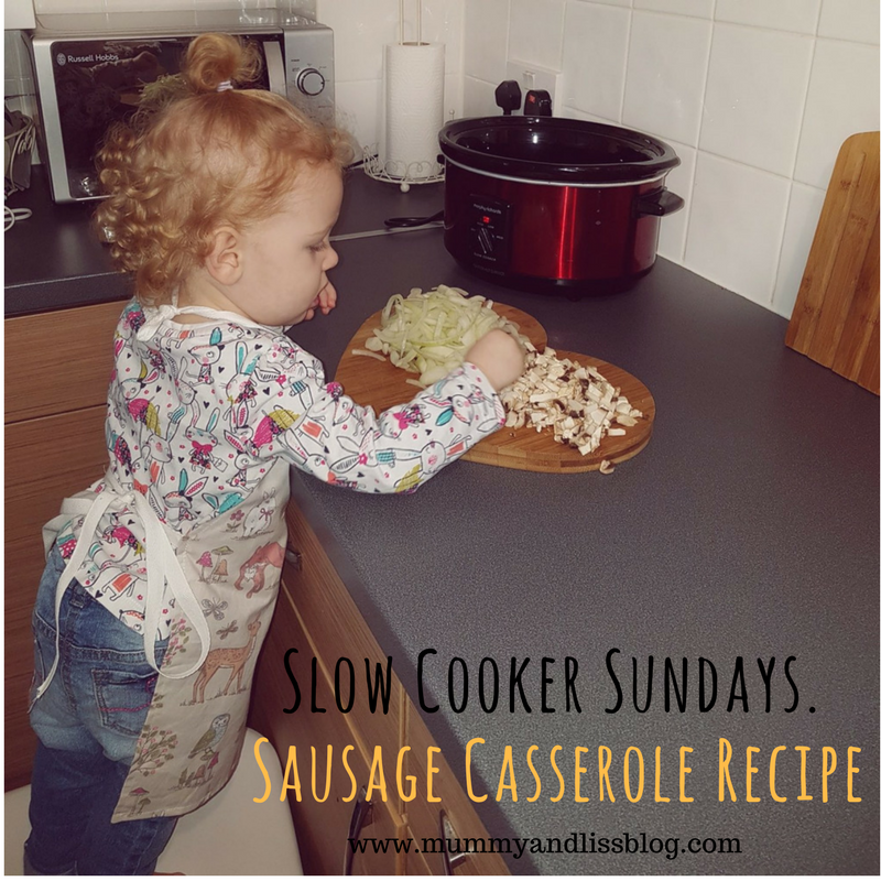 Slow Cooker Sunday – Sausage Casserole Recipe.