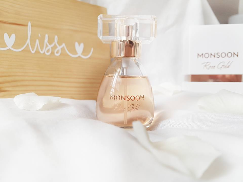Monsoon Rose Gold Perfume: First Impressions.