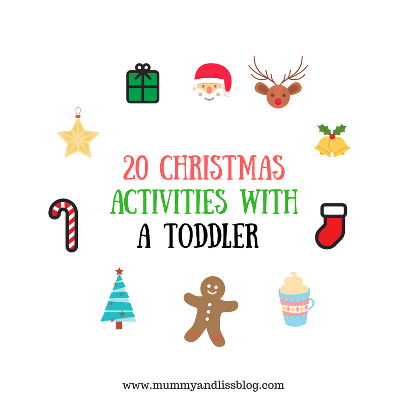 20 Christmas Activities with a Toddler
