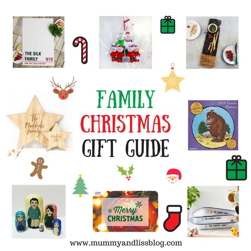 Family Christmas Gift Guide