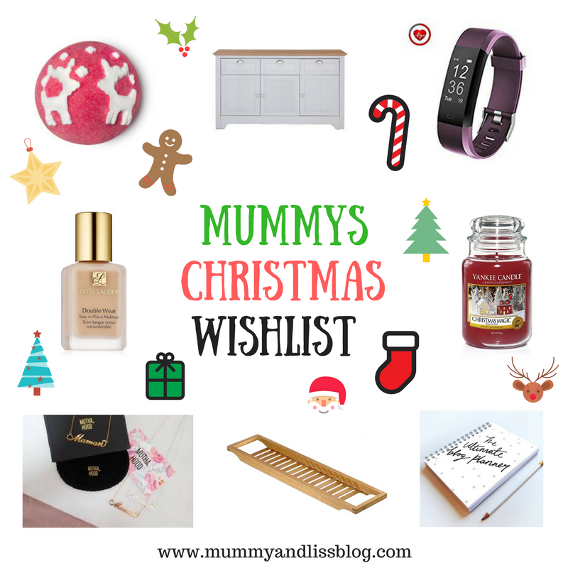 Mummy's Christmas Wishlist