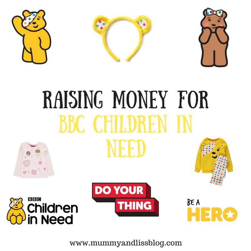 Raising Money for BBC Children In Need