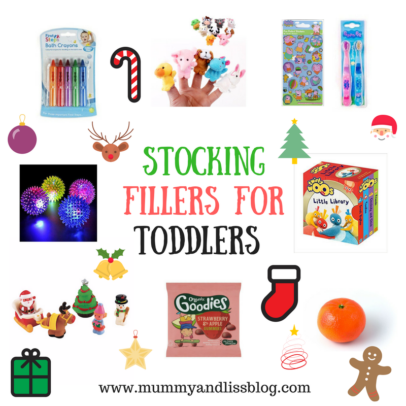 10 Toddler Stocking Filler Ideas