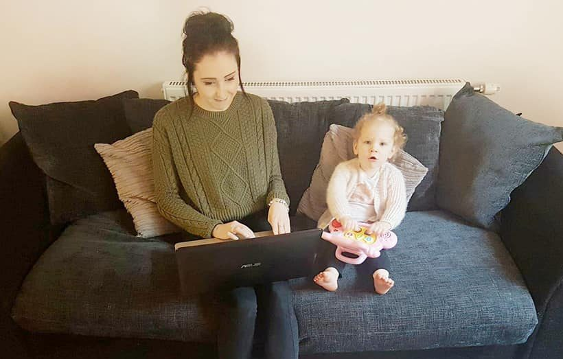 Adjusting to Life As a Work At Home Mum
