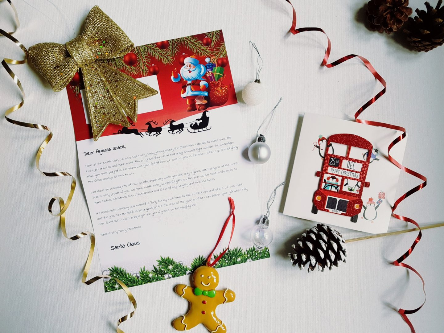WIN A LETTER FROM SANTA.