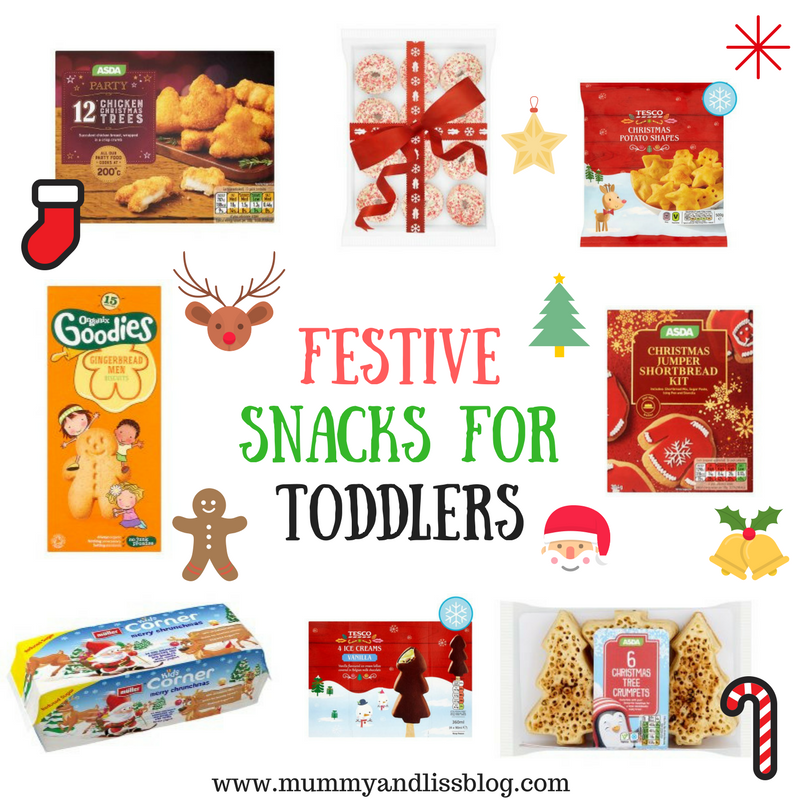 Festive Snacks for Toddlers ( & adults of course)