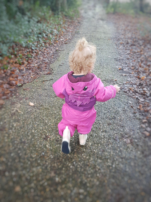 Alyssia off exploring!