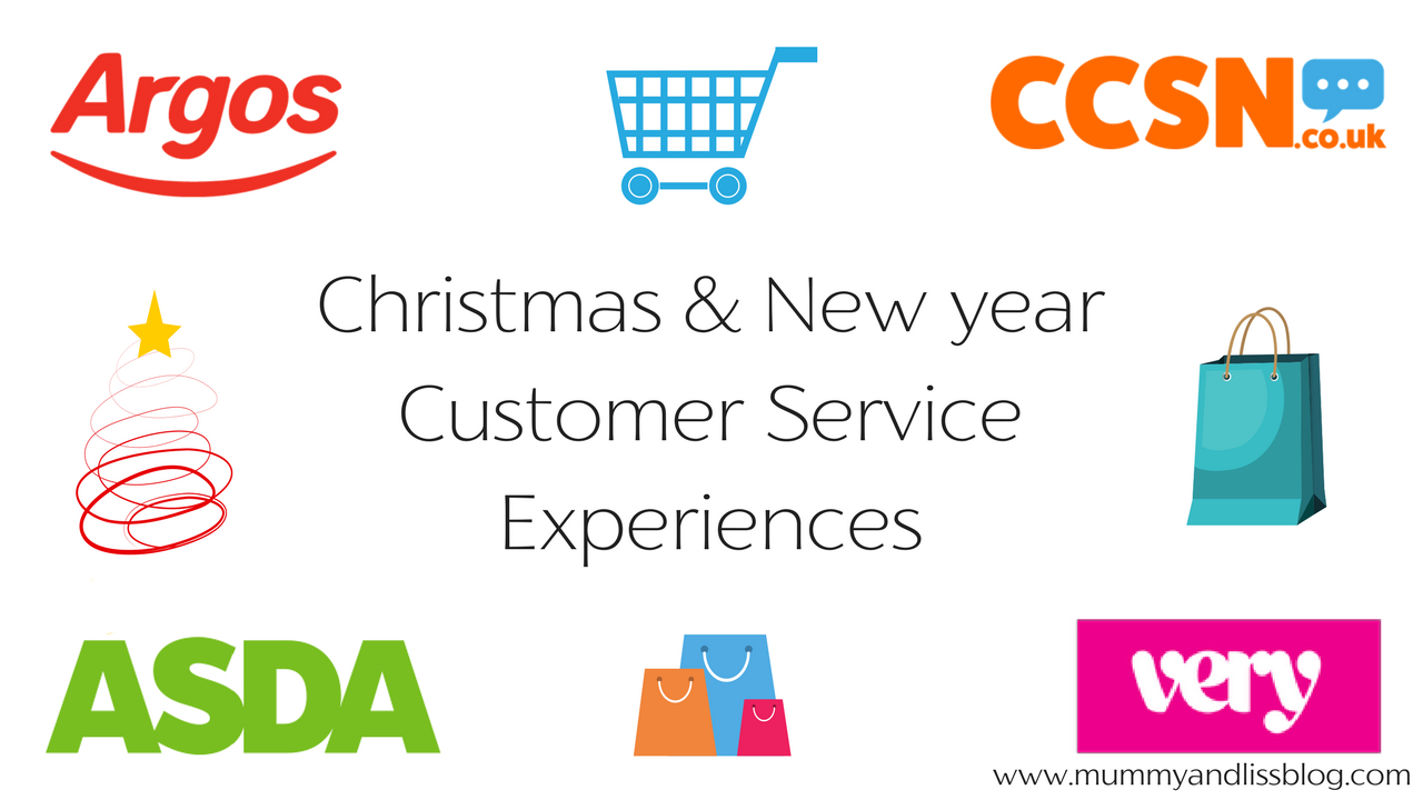 Christmas & New year Customer Service Lines · Mummy & Liss