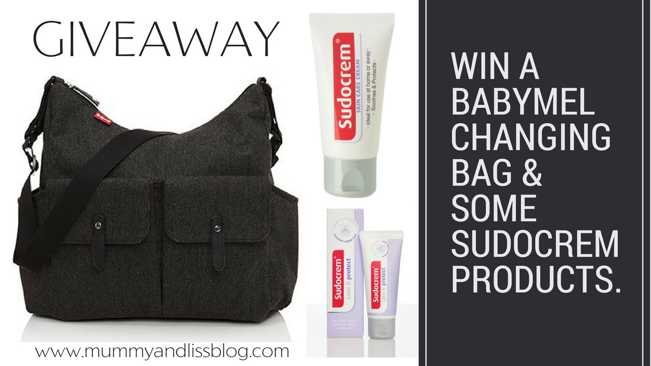 Win a Babymel Changing Bag worth £58 with Sudocrem.