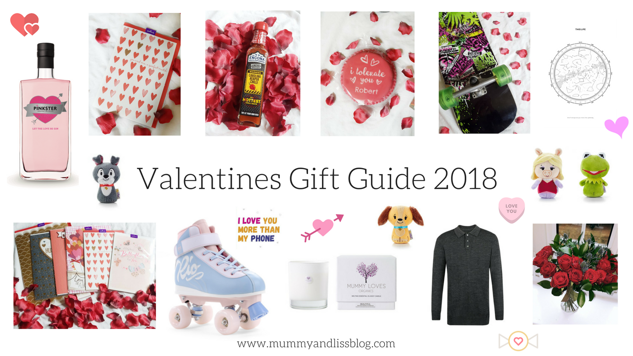 Valentines Gift Guide for Him & Her.