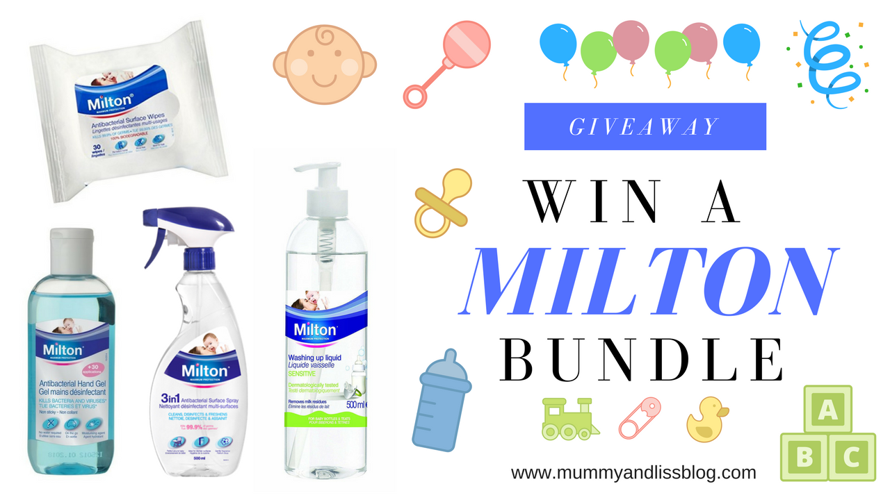 WIN A MILTON BABY/TODDLER BUNDLE