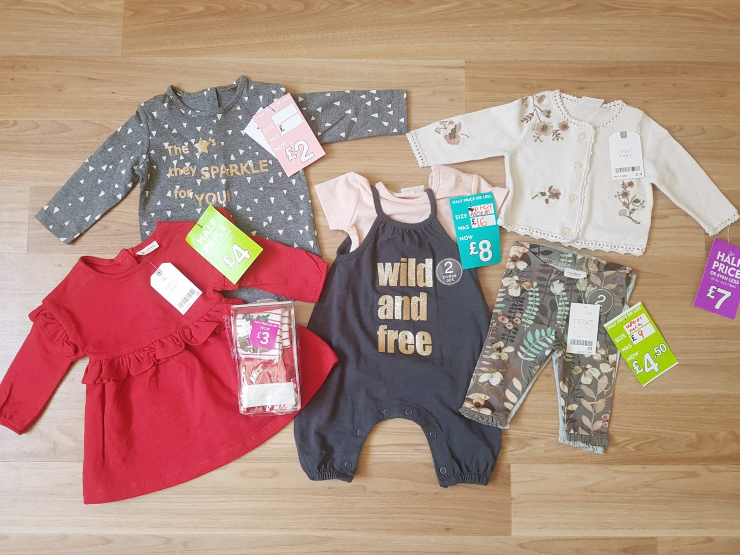 Baby Girl Haul & 25 Years of Clarks Village