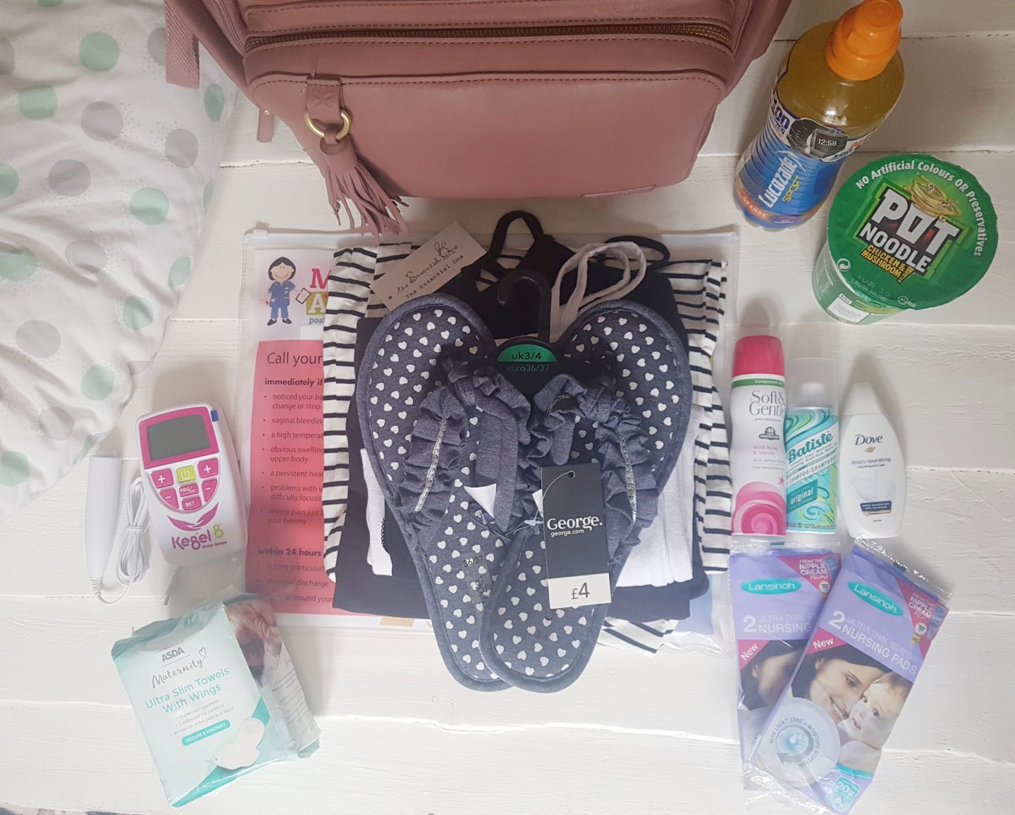 What's in my hospital bag? Mum & Baby