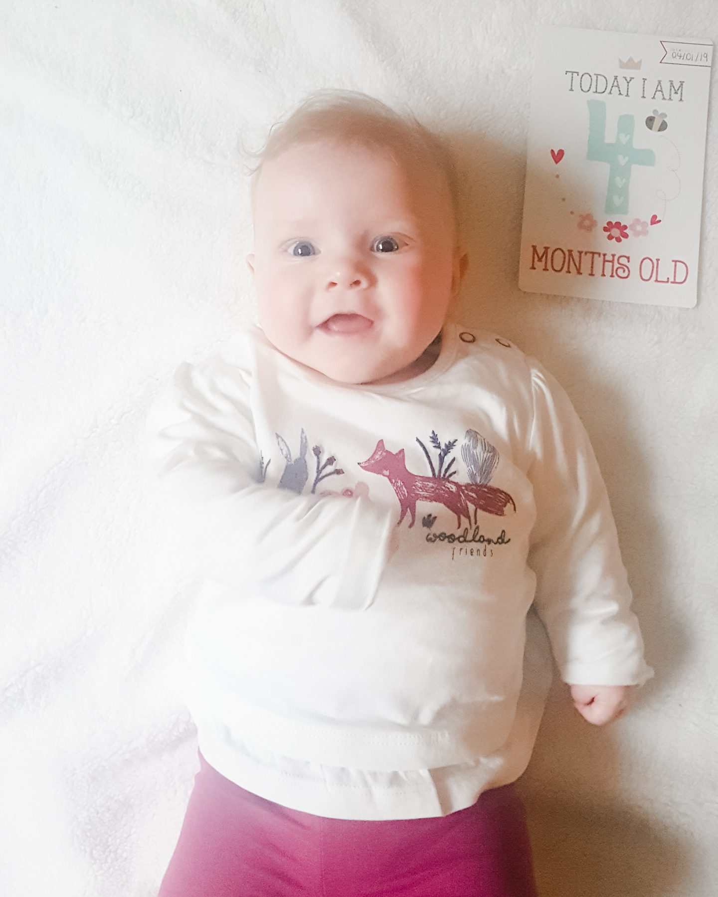 Isabelles 4 Month Update