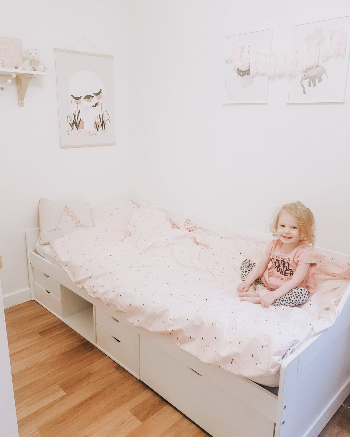 How Big Is A Toddler Bed.From A Toddler Bed To A Big Girl Bed With Noa Nani